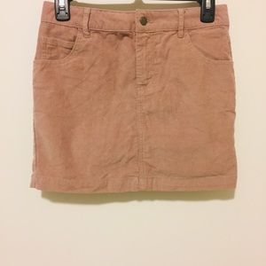 Urban Outfitters BDG High Rise Corduroy Mini Skirt